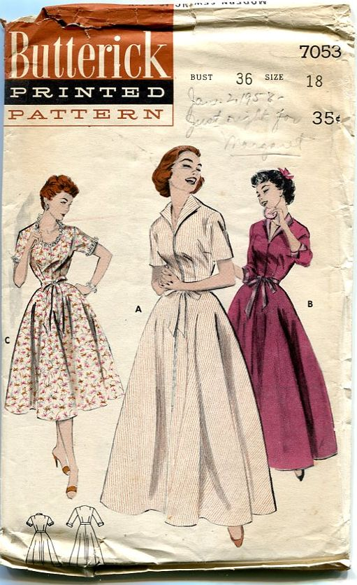 Vintage lingerie patterns