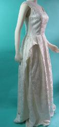 Vintage 1950s Wedding Dress Prom Will Steinman with Panniers B36