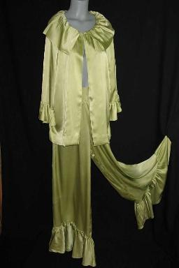 Vintage 60's Princess Galitzine palazzo lounging set
