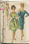 vintage sewing pattern simplicity 3717